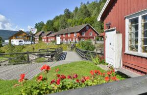 Bilde fra Eidsfoss. Foto.