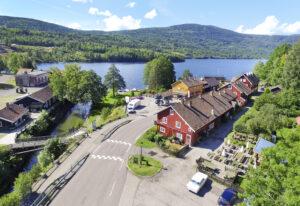 Drotefoto fra Eidsfoss.