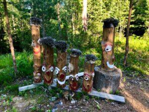 Eventyrskogen i Sundbyfoss. Foto: Plassen vår