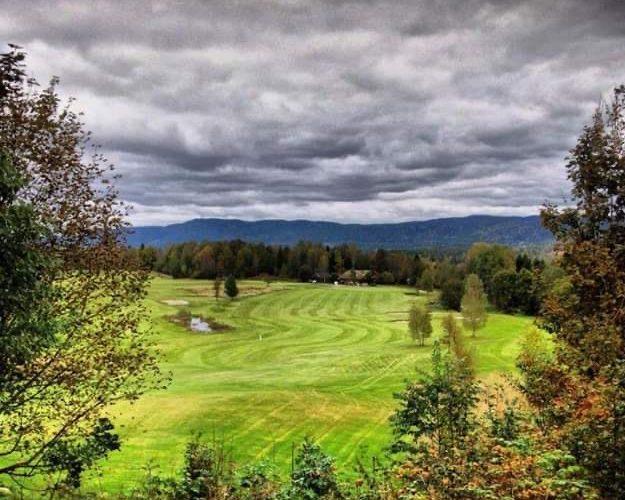 Golfbane. Foto.